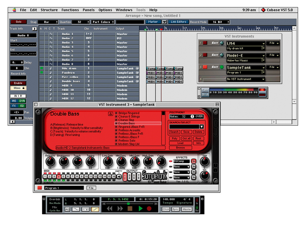 IK MULTIMEDIA SAMPLETANK 2.5 XL Computer music Virtual instruments ...