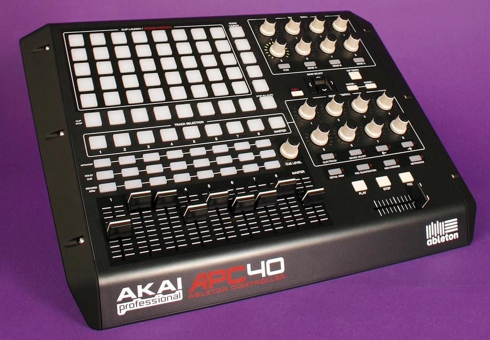 Musikmesse 2014: new akai apc controllers talkthrough video.