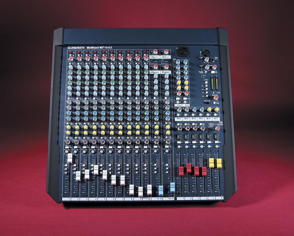 Allen Heath Mixwizard Wz4 1442 Pa Mixer Interface Hookup Gearslutz Pro Audio Community