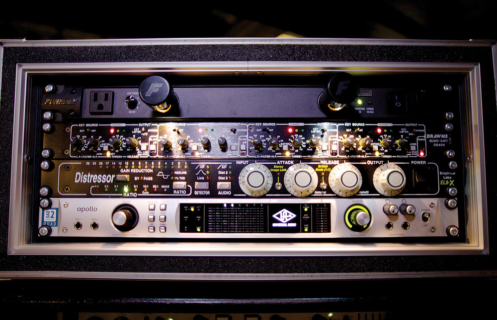 Mixing FOH With A UAD Apollo Interface