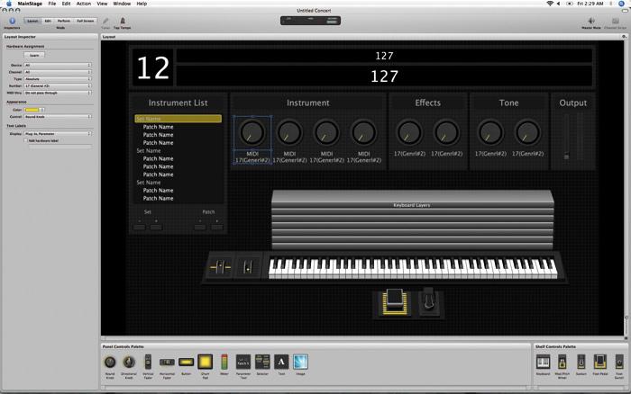 Apple Main Stage & Soundtrack Pro 2