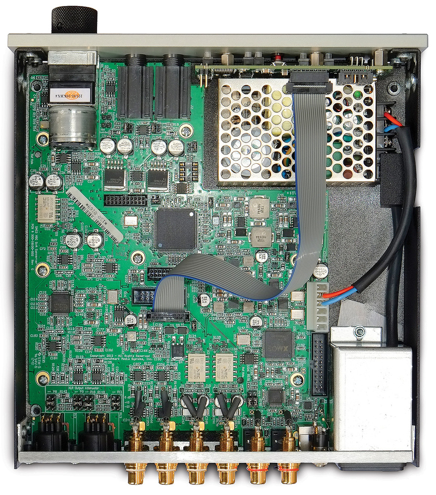Benchmark Dac2 Hgc Simple Toggleswitch Driver Operates Coaxial Rf Switches Analog Ever Wondered Just How Complicated A Dac Could Be