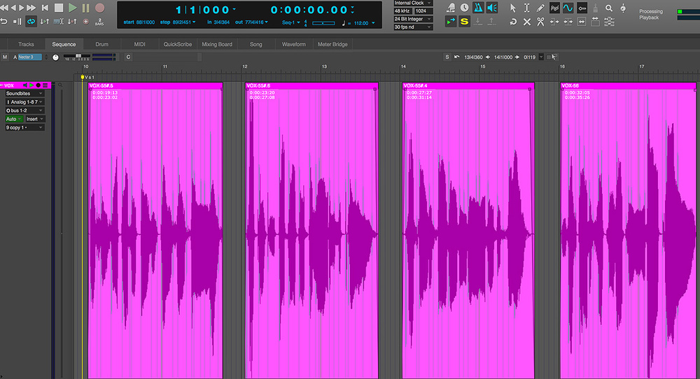 vocal processing effects in digital performer. Black Bedroom Furniture Sets. Home Design Ideas