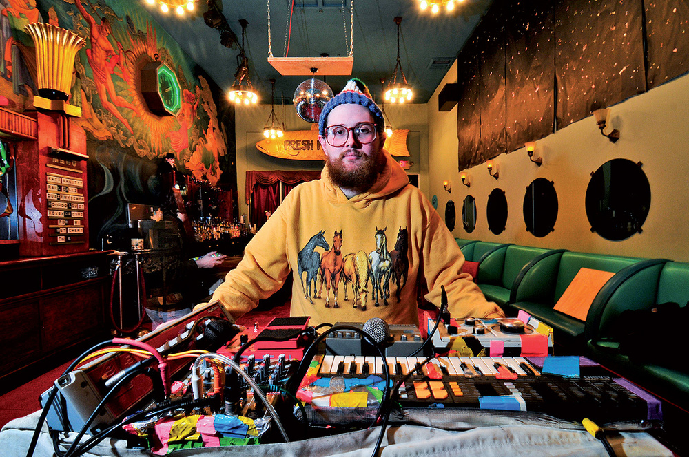 Dan Deacon: Performing Electronica Live