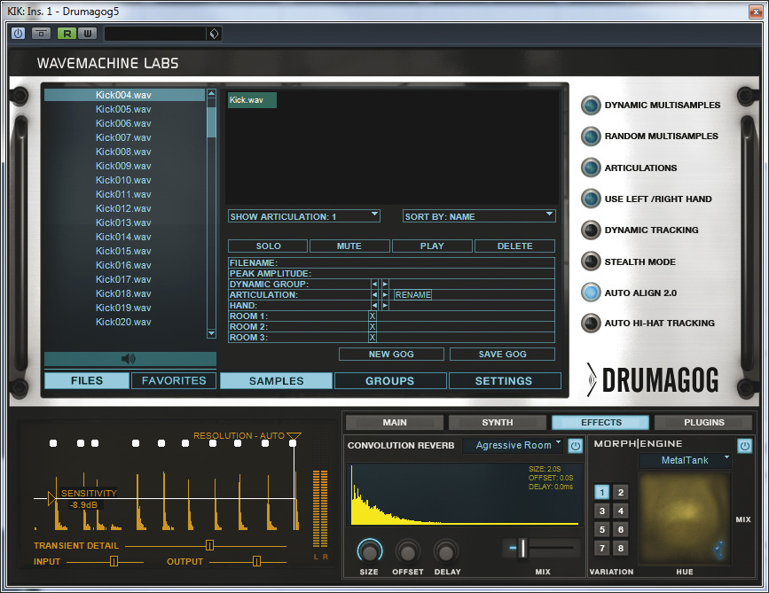 Replacing & Reinforcing Recorded Drums