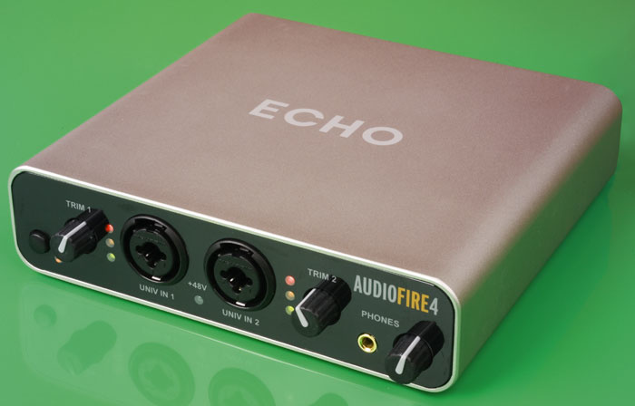 echo audiofire 4 console