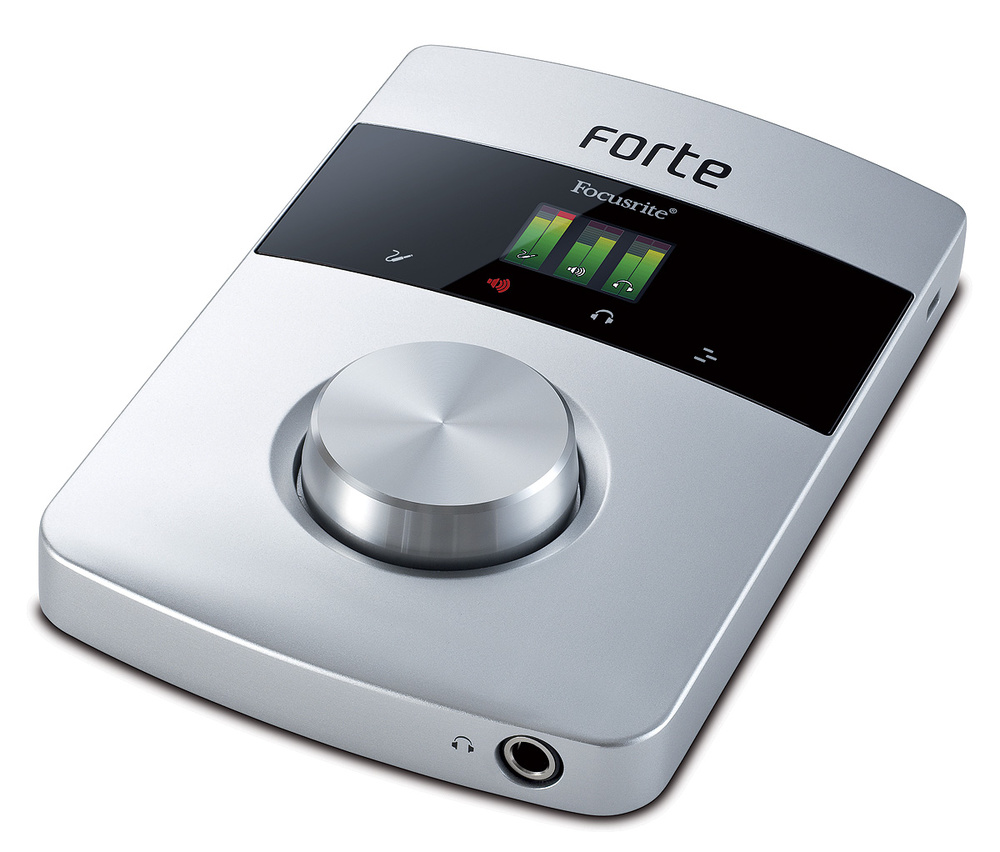 Focusrite forte review: be forte! Audiofanzine.