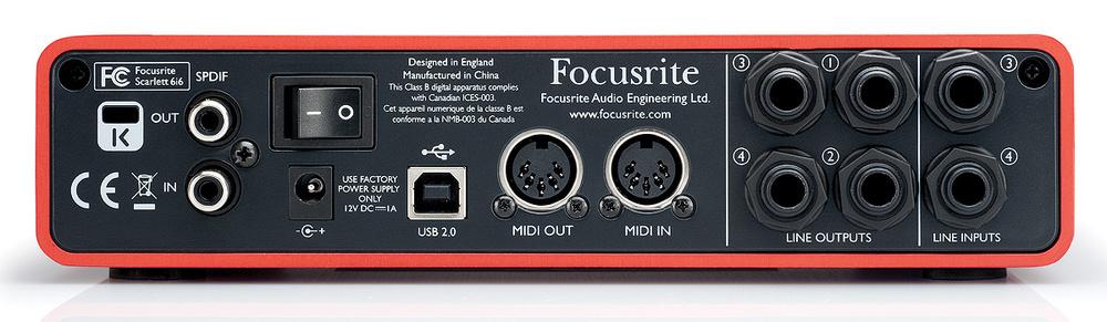 Focusrite Scarlett 6i6 & Scarlett Studio