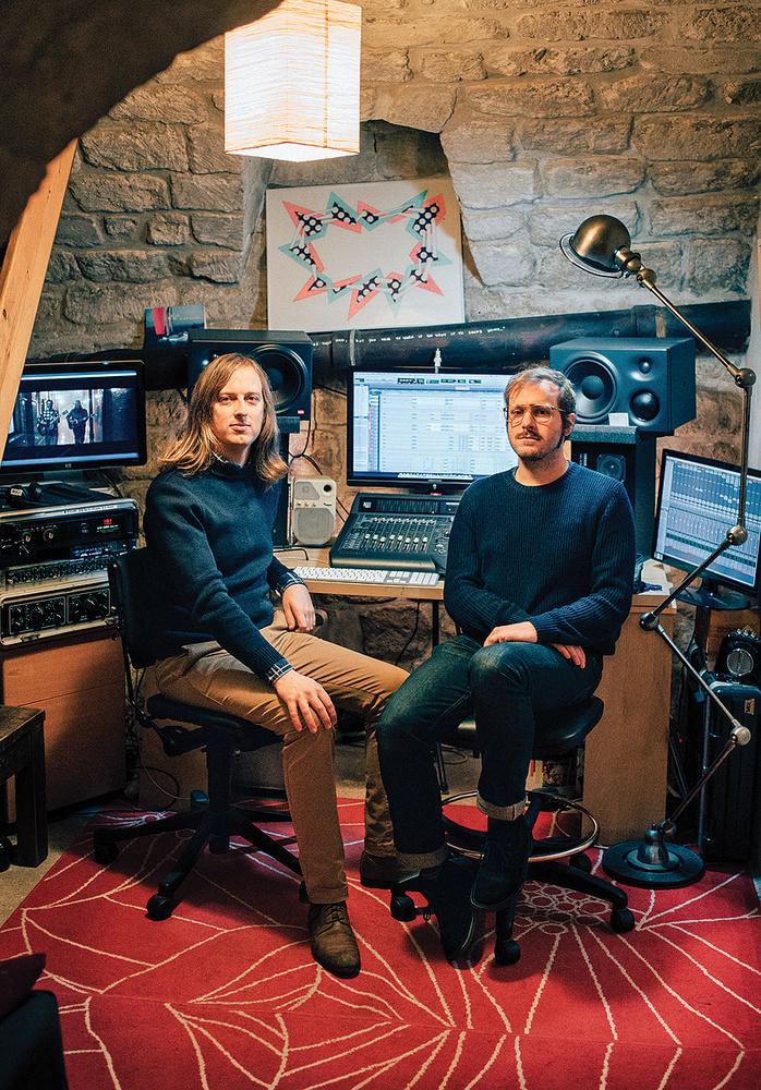 justin timberlake turns interior designer to launch new where can interior designers work Henri du0027Armancourt (left) and Guillaume de la Villéon at du0027Armancourtu0027s
