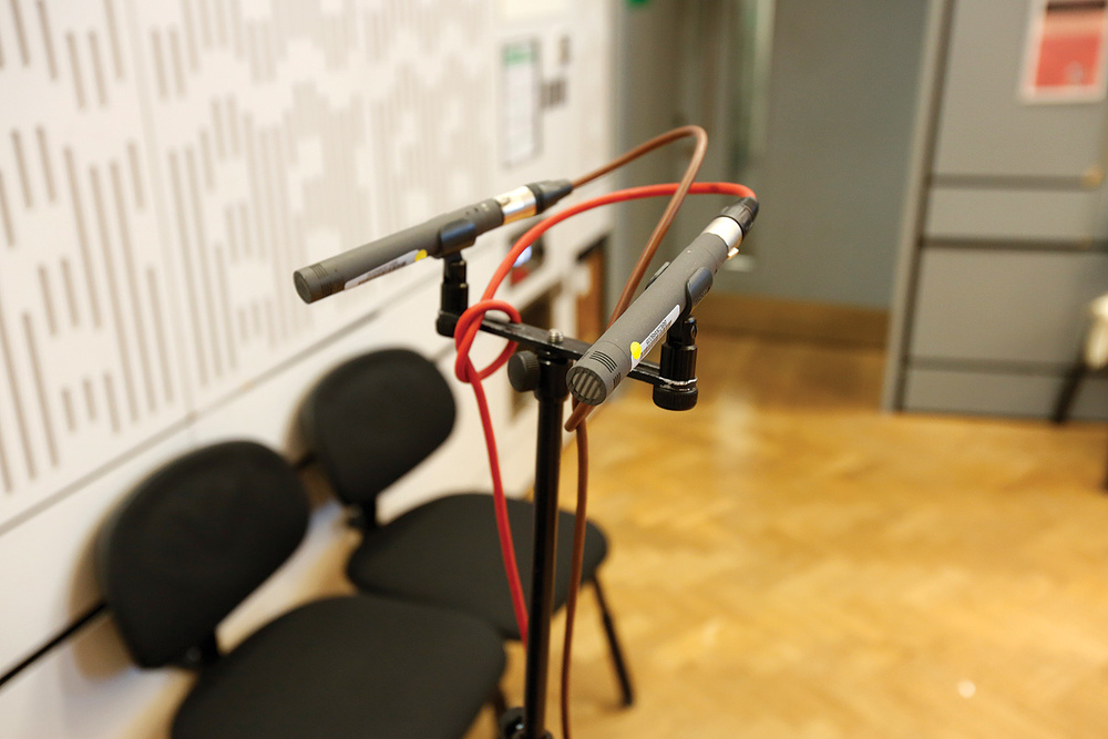 Behind The Scenes At BBC Radio 3's In Tune