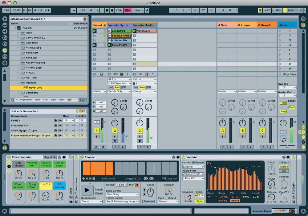 ableton live 9 suite library download