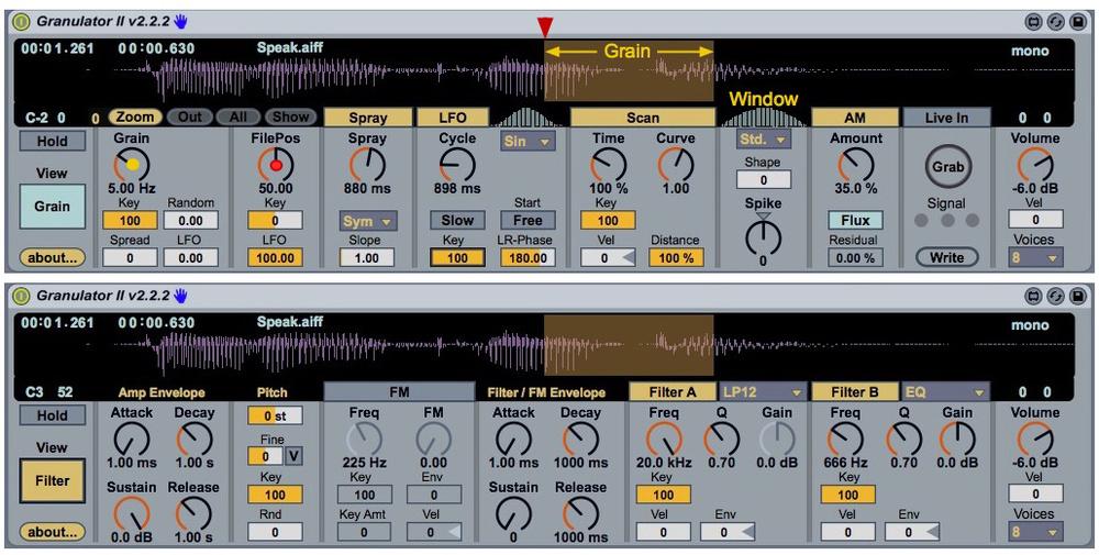 Ableton Live: Grain Fever