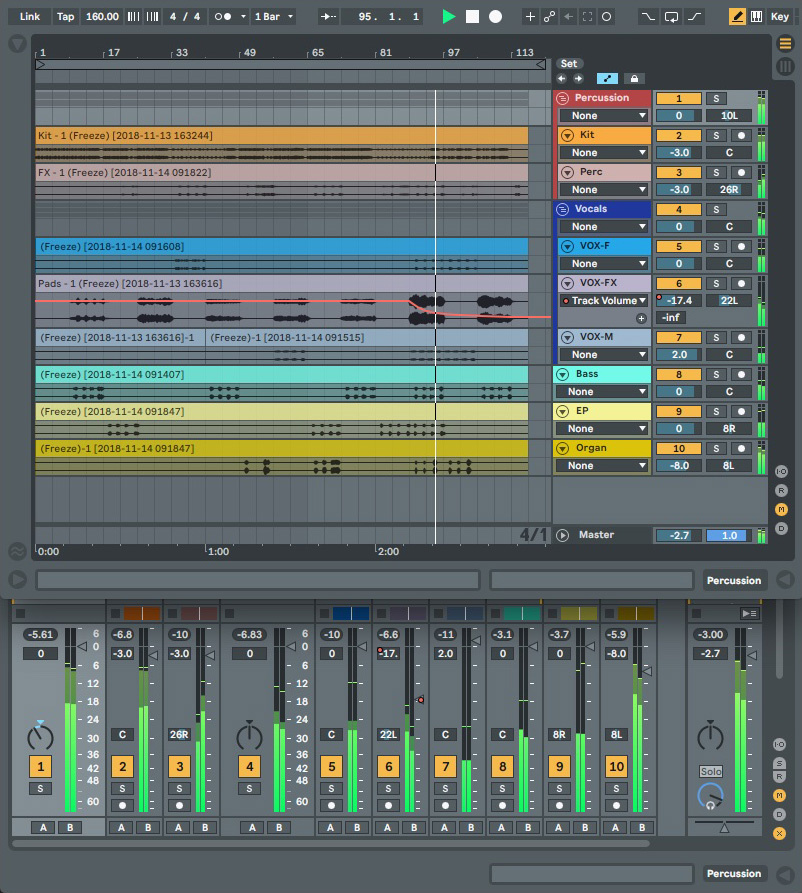 Mixing With Ableton Live