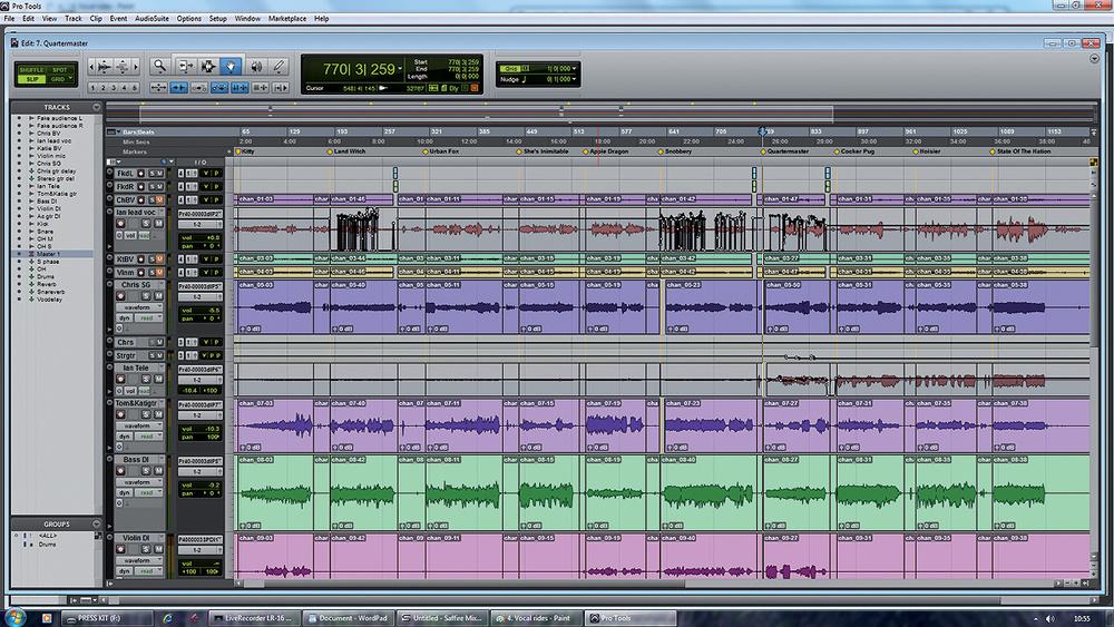 Mixing A Live Recording