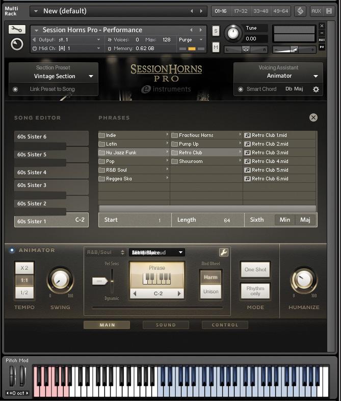 NI Session Horns Pro