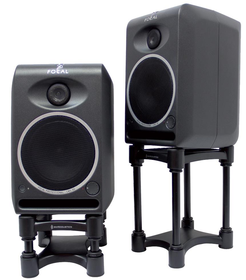 IsoAcoustics ISO-L8R130 Small Studio Monitor Speaker Isolators