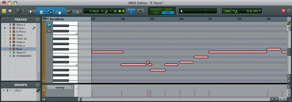 Midi editor c#