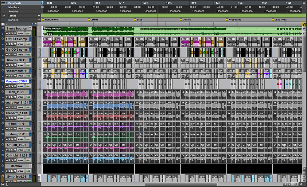Pro Tools: Creating Stems