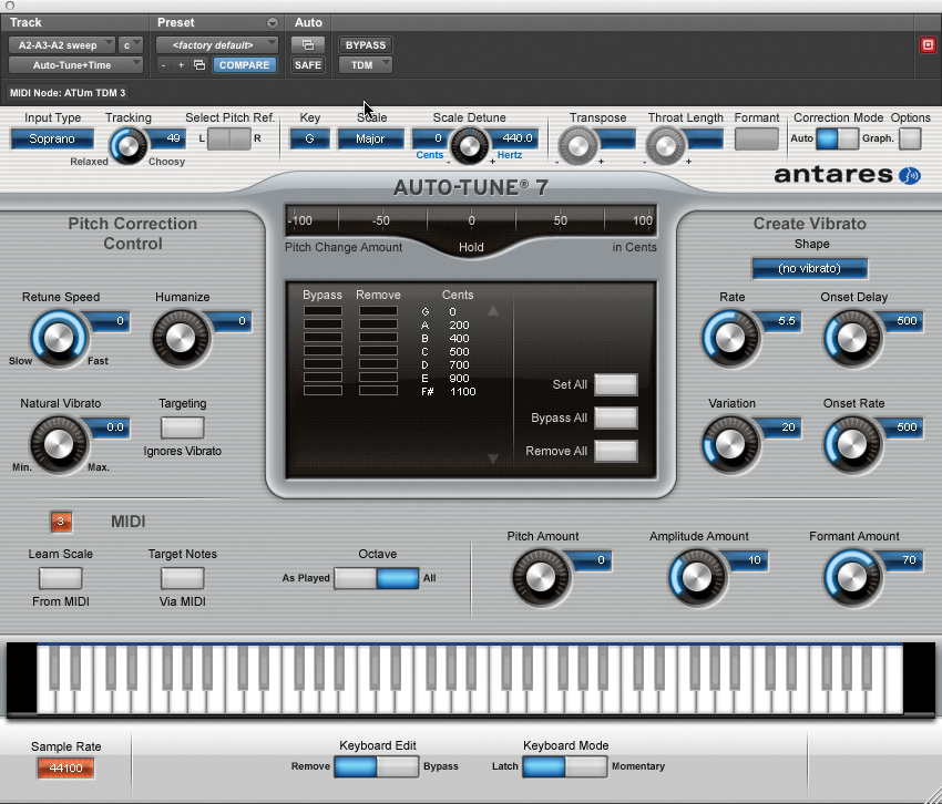 the effects of auto tune in the Antares auto-tune evo is a third-party plug-in processor that automates the correction of pitch and intonation, saving hours of time in the vocal booth.