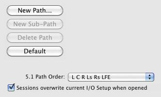 I/O Setup Window In Pro Tools 9