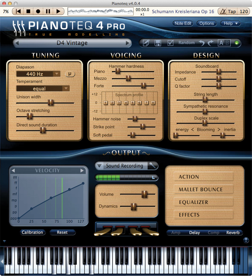 Q  How much latency is acceptable for virtual piano?