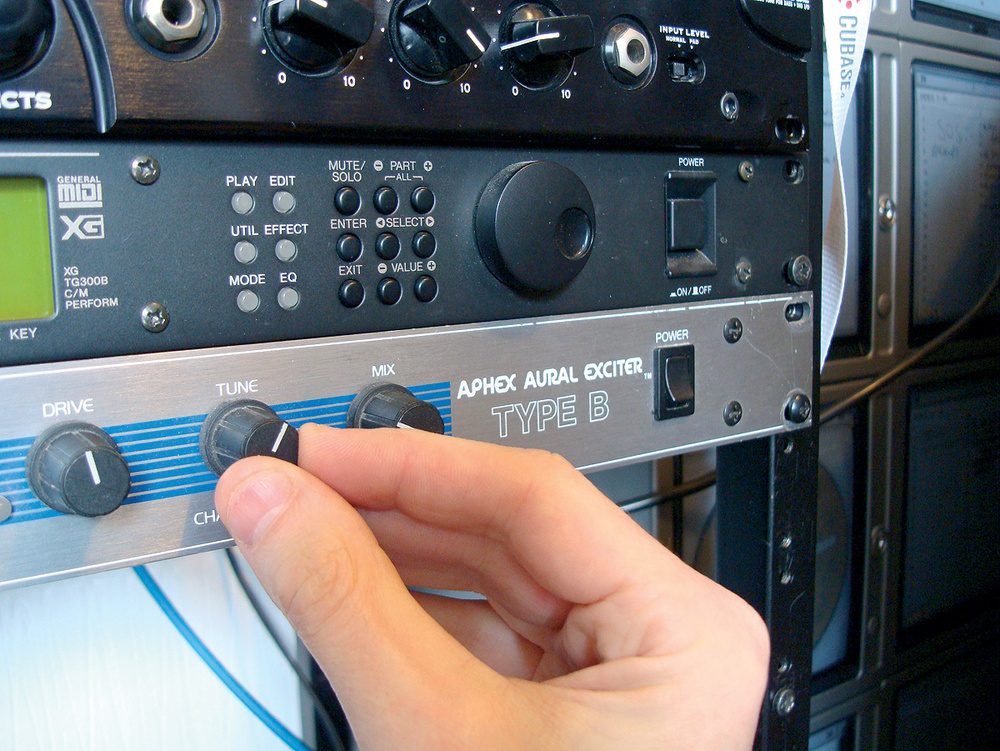 Q  Would an Aural Exciter improve my sound?
