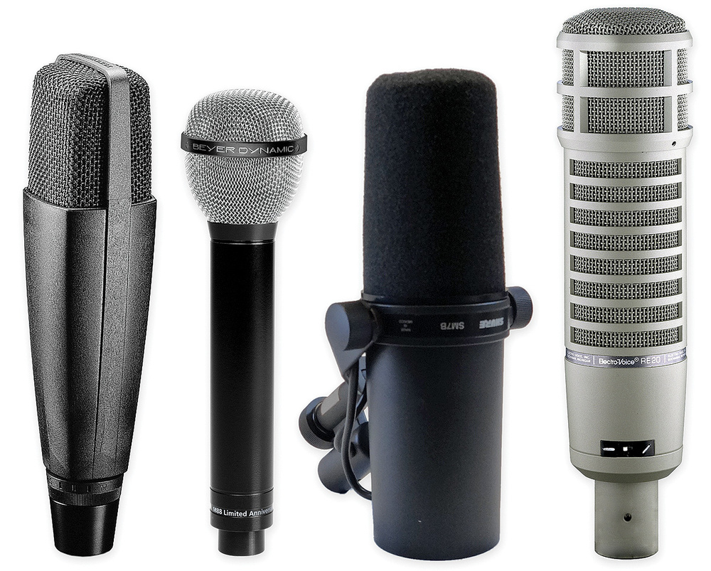 The 10 Biggest Recording Mistakes Dynamic Mic Amplifier To Use Speaker As Microphone Electronic Classic Mics Such Sennheiser Md421 Beyerdynamic M88 Shure Sm7b And