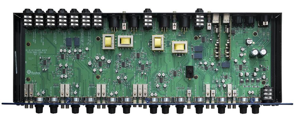Radial KL-8 inside