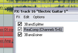 Reaper: Creating Multi-Band Processors