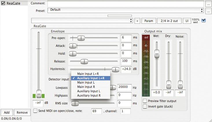 ReaGate Noise Reduction