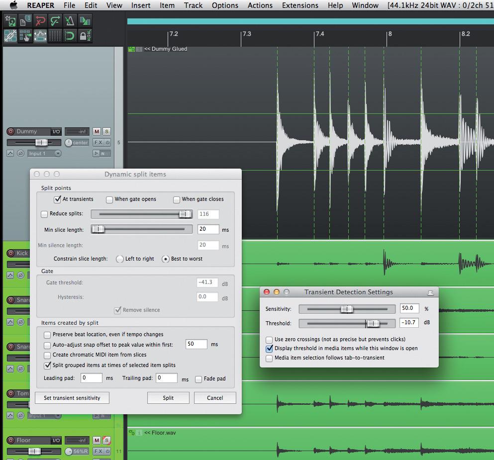 Drum Editing In Reaper: Part 1
