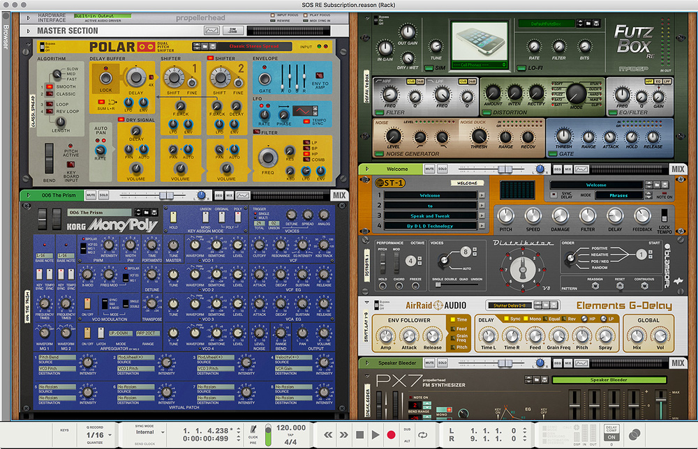 Paid by credit card propellerhead reason 4