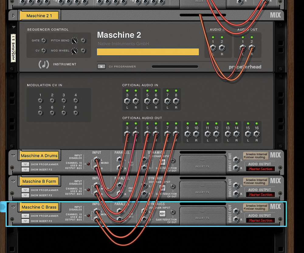 Integrating Maschine With Reason
