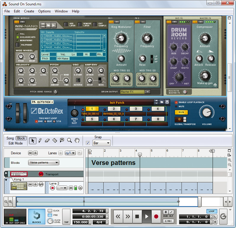 Learn reason 8. 3 | using the kong drum designer part ii | drum.