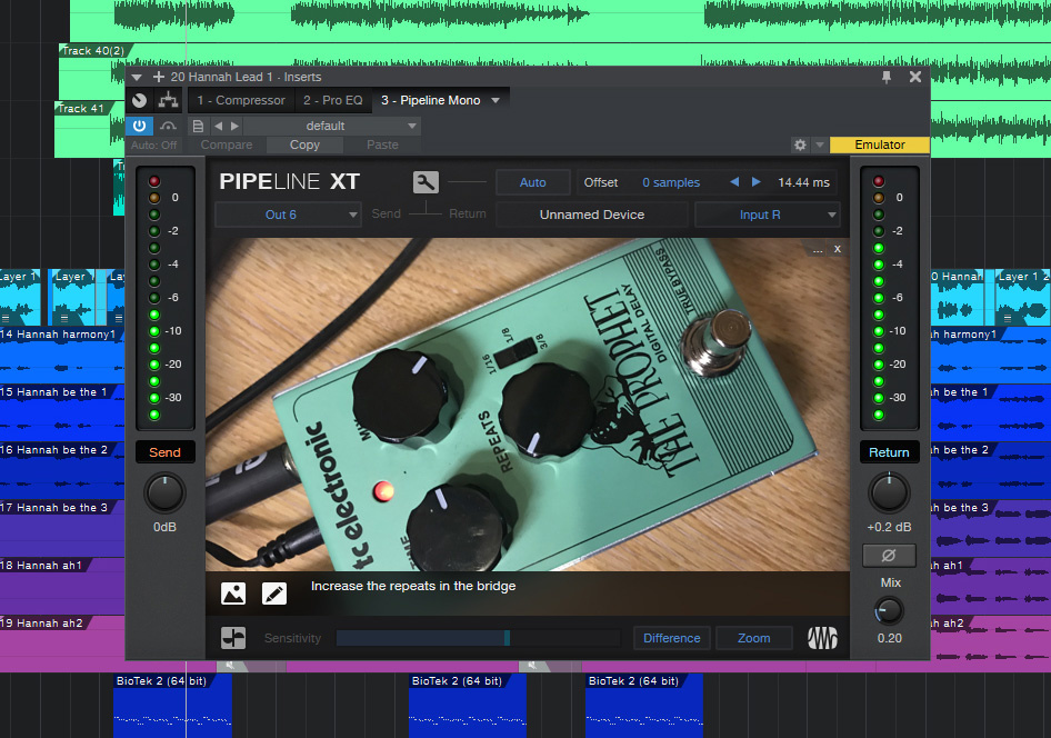 Pipeline XT: Integrating Outboard In Studio One