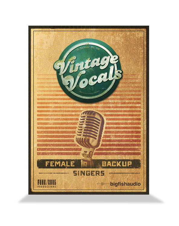 Big Fish Audio Vintage Vocals