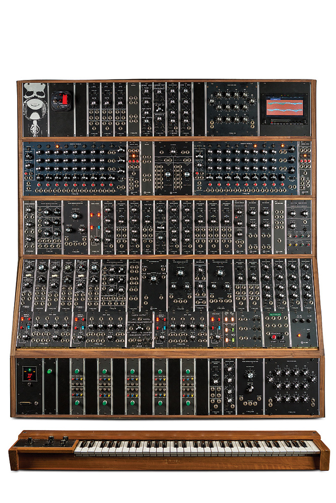 The Rebirth Of Keith Emerson's Moog Modular