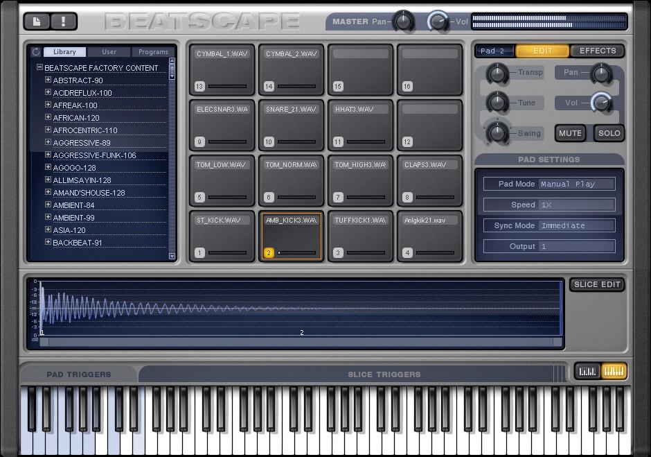 Exploring Sonar 8's Beatscape Instrument