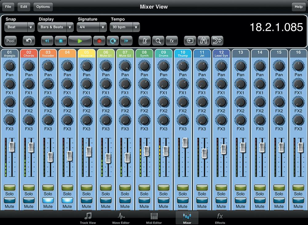 Multitrack DAWs For iPad