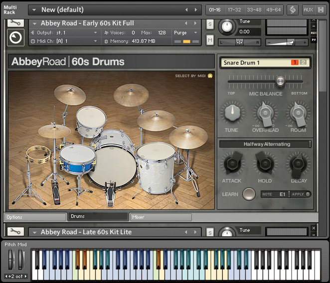 Software Drum Instruments