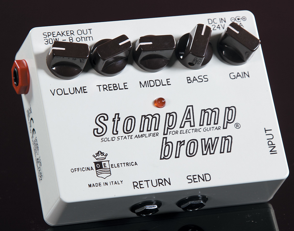 StompAmp Brown