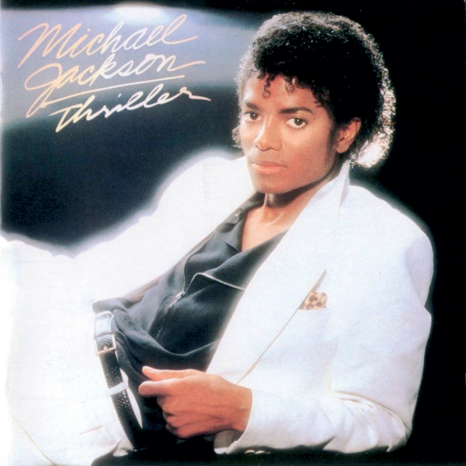 1984 MICHAEL JACKSON THRILLER Album Release Vintage Look REPLICA METAL SIGN