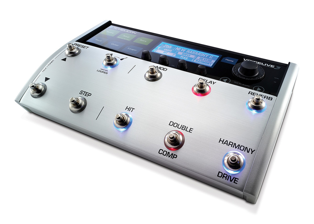 TC Helicon Voicelive Play Vocal Harmony Delay Reverb Doubler Effects Processor