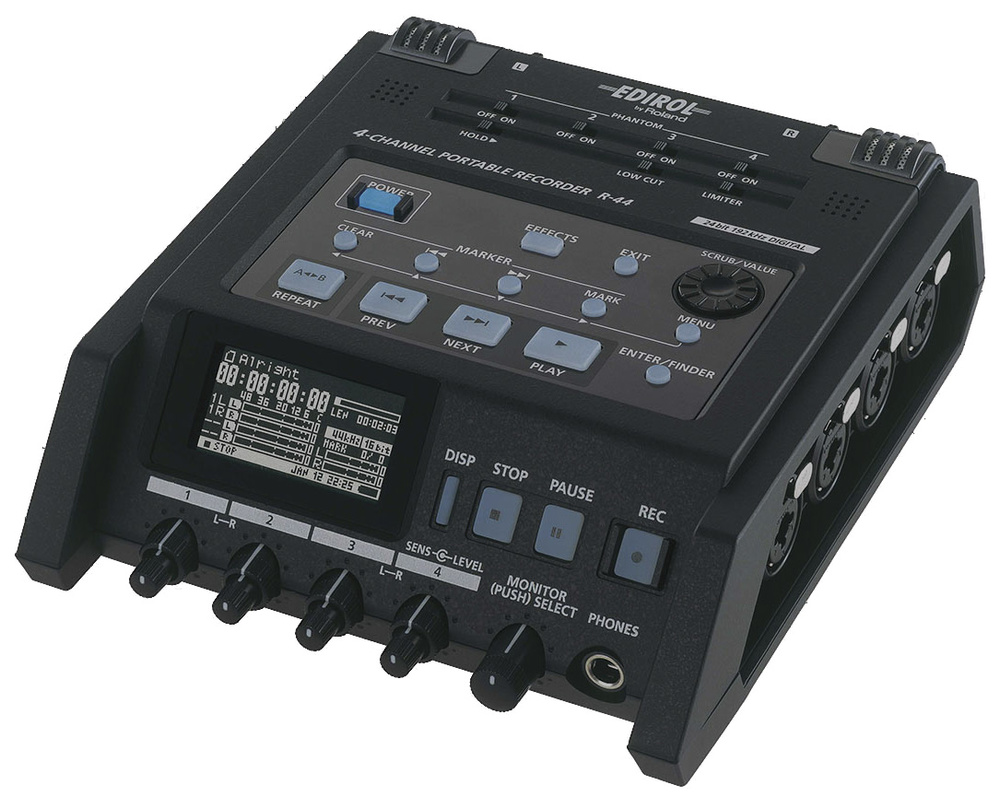 Sound Sync Ecm Mic Preamplifier By Bc549 The Edirol R44 Is A Highquality Fourtrack Portable Recorder With Four