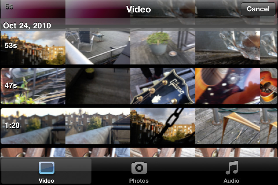 iPhone 4: Shooting & Editing Music Videos