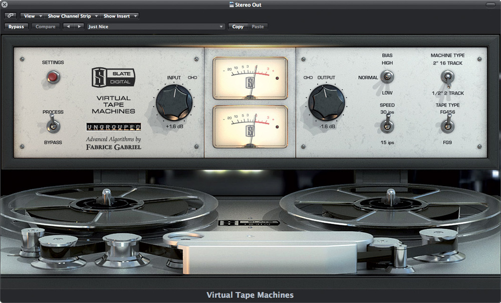 Uad ampex vs slate vtm manual.