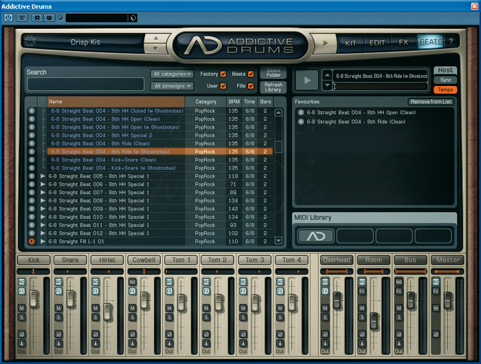 XLN Addictive Drums