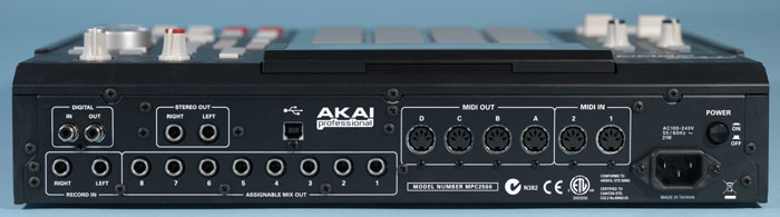 NEW DRIVERS: AKAI MPC2500