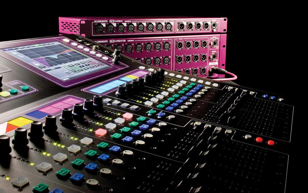New Drivers: Allen & Heath GLD Digital Mixer