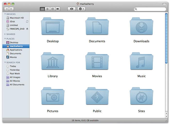 Access library folder mac